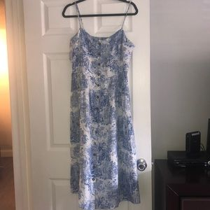 H&M dress with buttons, used once